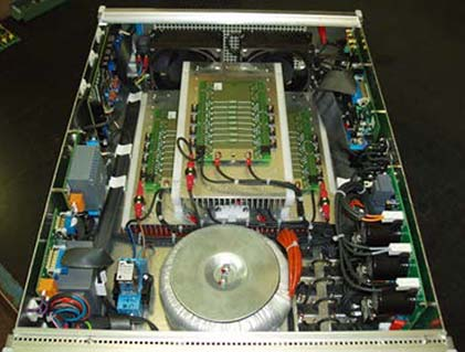 DANA 1000 Vdc Linear Power Supply internal view 2