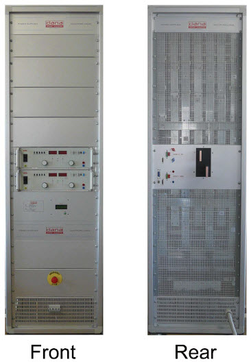 DANA DEX 3-3000 Linear Generator Front and Back views