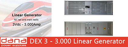 DANA DEX 3-3000 Linear Generators