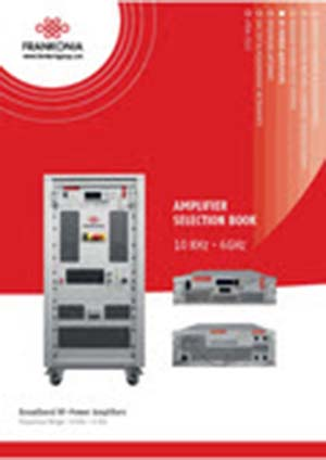 Frankonia Group Amplifier Selection Book