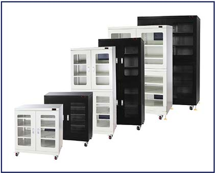 Sanwood presents the SDH01400-02 family of Ultra Low Humidity Storage Cabinets