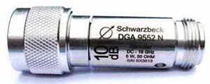 Schwarzbeck Attenuator DGA 9552 N Bidirectional Attenuator N-female N-male to 18 GHz, 50 Ohm 5 Watt