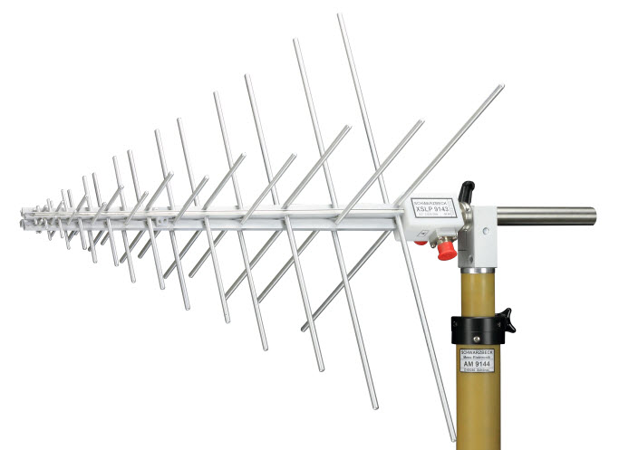 Schwarbeck Dual Polarized UHF-SHF Logarithmic Periodic Antenna XSLP 9143