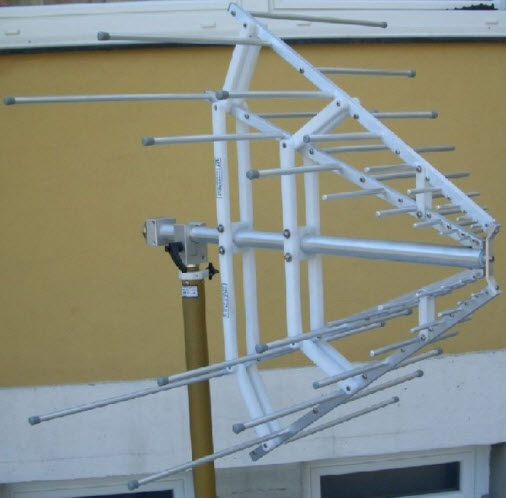 Stacked Logarithmic Periodic Broadband Antenna STLP 9128 C