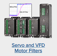 OnFILTER Servo and VFD Motor Filters
