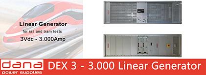 DANA DEX 3-3000 Linear Generators