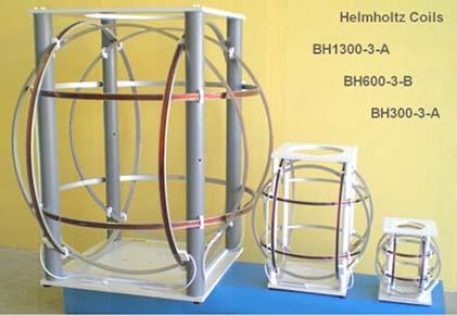 Ferronato 1D, 2D and 3D Helmholtz Coils