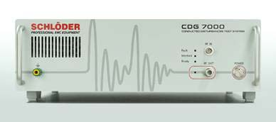 Schloder CDG 7000 for conducted immunity tests based on IEC 61000-4-6 BCI