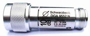 Schwarzbeck Attenuator DGA 9552 N Bidirectional Attenuator N-female N-male to 18 GHz, 50 Ohm 5 Watt