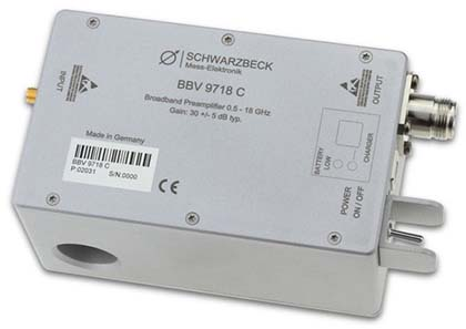 Schwarbeck BBV 9718 C - Microwave Broadband Preamplifier