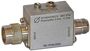 Schwarzbeck BBV 9744 Broadband Coaxial Preamplifier