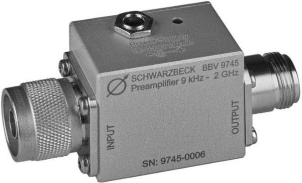 Schwarzbeck BBV 9745 Broadband Coaxial Preamplifier