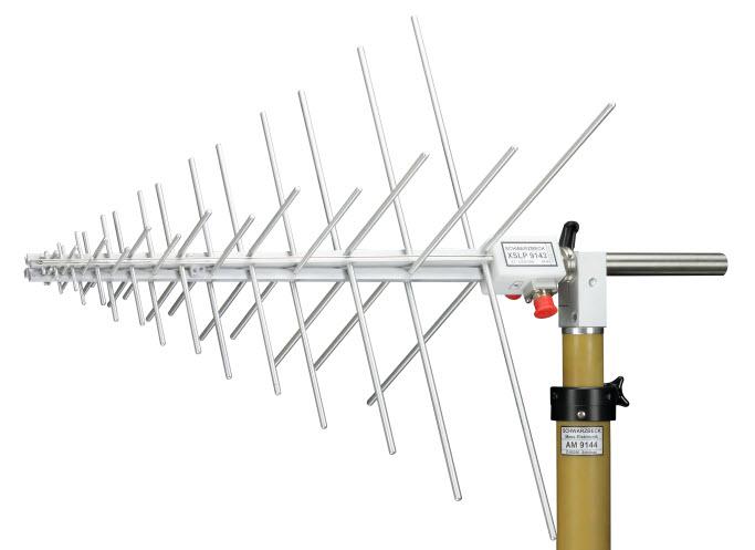 Schwarbeck Dual Polarized UHF-SHF Logarithmic Periodic Antenna XSLP 9143