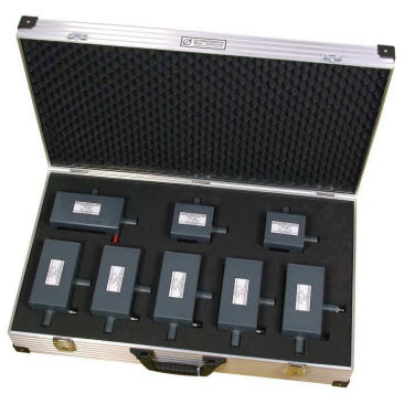 Schwarzbeck ISO 11452-9 Antenna Set - Case with EGG antennas