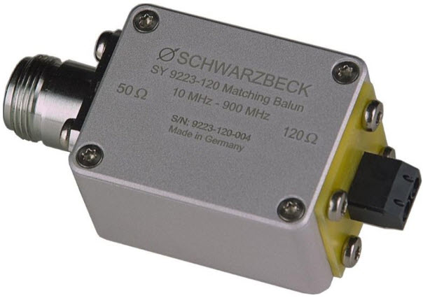 Schwarzbeck SY 9223-120 Balun for transmission measurements