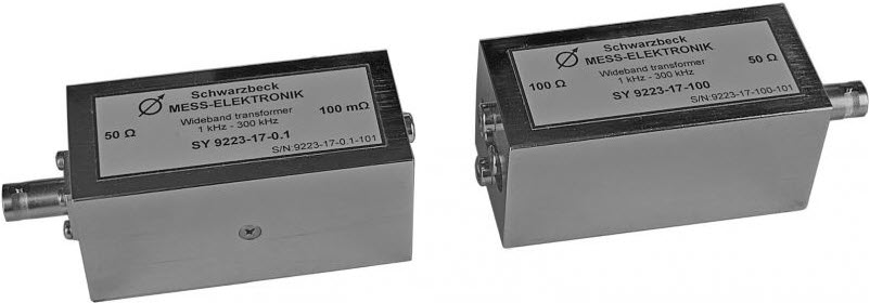 Schwarzbeck SY 9223-17-100 Broadband transformer