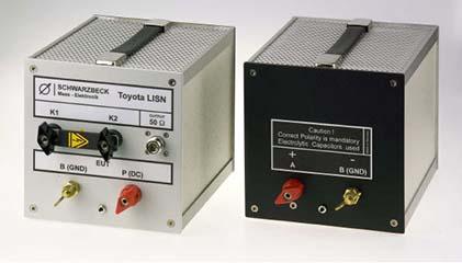 Schwarzbeck Toyota Single path low-impedance AMN Automotive LISN