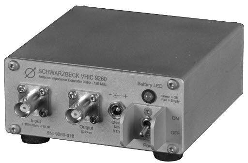 Schwarzbeck VHIC 9260 Antenna Impedance Converter