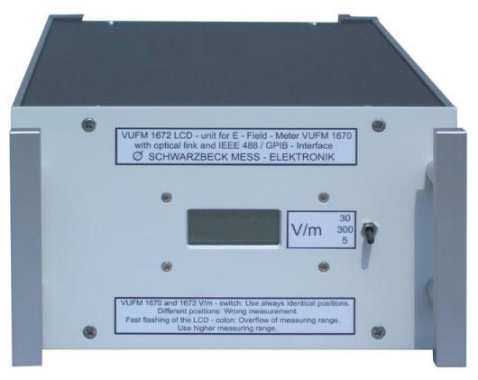 Schwarzbeck VUFM 1672 LCD-Unit for E-Field Meter VUFM 1670