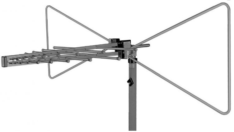 Schwarzbeck VULB9168 TRILOG Super Broadband Antenna