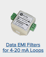 OnFILTER Data EMI Filters for 4-20 mA Loops